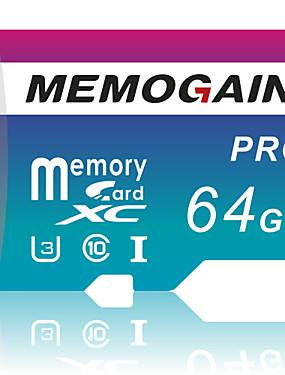 preiswerte Micro SD-Karte/TF-memogain 64 gb speicherkarte 32 gb 16 gb high speed micro sd karte c10 uhs-3 sdxc sdhc flash karte speicher microsd tf / sd karte