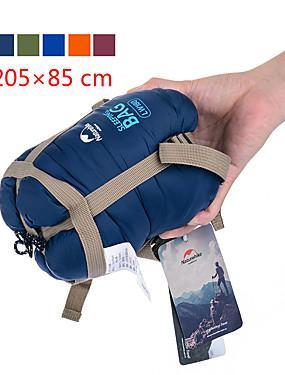 cheap Sports & Outdoors-Naturehike Mini-Ultralight Sleeping Bag Outdoor Camping Rectangular Envelope / Rectangular Bag 15 °C Single T / C Cotton Waterproof Portable Mini Breathable Ultra Light (UL) Squeezing 205*85 cm