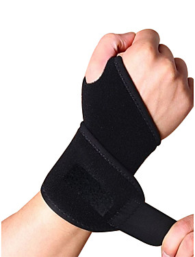 cheap Sports & Outdoors-Hand & Wrist Brace Wrist Wraps Sports Exercise & Fitness Inversion Exercises Gym Workout Adjustable Non Toxic Durable Wrist Support Stress Relief Strength Trainer For