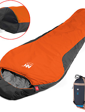 cheap Sports & Outdoors-Naturehike Sleeping Bag Outdoor Camping Mummy Bag 0~5 °C Single T / C Cotton Portable Windproof Breathable Warm Moistureproof Ultra Light (UL) 220*83 cm Spring &  Fall Summer for Camping / Hiking
