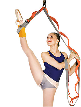 cheap Sports & Outdoors-Stretch Out Strap Yoga Strap Sports Poly / Cotton Yoga Ballet Exercise & Fitness Durable Stretching Physical Therapists Athletic Trainers For Women's