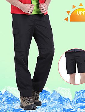 abordables Deportes y Ocio-Hombre Pantalones para senderismo Pantalones convertibles Al aire libre Impermeable Transpirable Secado rápido Reductor del Sudor Pantalones / Sobrepantalón Pantalones convertibles Prendas de abajo