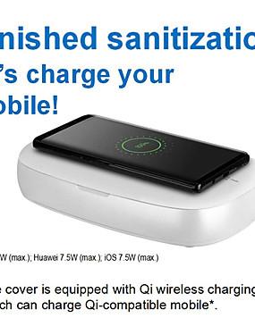 cheap Mobile Phone Sterilizer-MOMAX UV-Box Wireless Charging UV Disinfection Box Mask Sanitizer Multi-Function Disinfection Box iPhone iPad iWatch iPod Samsung