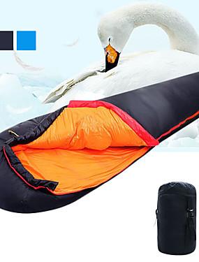 cheap Sports & Outdoors-Shamocamel® Sleeping Bag Outdoor Camping Mummy Bag -5 ~ -12 °C Single White Duck Down Ultralight Waterproof Warm Moistureproof Ultra Light (UL) Soft Comfortable Skin Friendly 205*80 cm Autumn / Fall