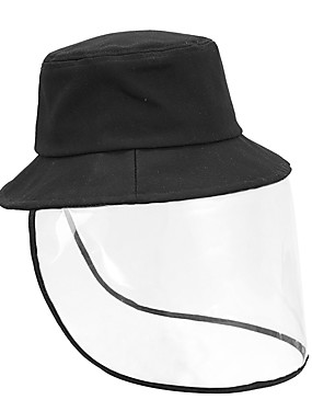 cheap Staycation-Anti Fog Protective Full Face Mask Droplets Protective Cap Removable unisex Hat