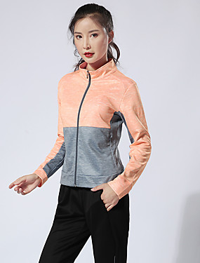 cheap Sports & Outdoors-Women's Tennis Badminton Table Tennis Pants / Trousers Track Jacket Clothing Suit Color Block Breathable Quick Dry Soft Autumn / Fall Spring Winter Sports Outdoor / High Elasticity
