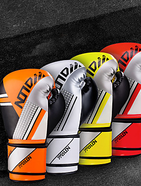 cheap Sports & Outdoors-Boxing Gloves For Martial Arts Muay Thai Kickboxing Durable Shock Absorption Breathable Shockproof Adults Men's Women's - Red black White / Black Yellow / Black