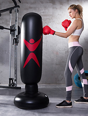 cheap Sports & Outdoors-Punching Bag 1039 Martial Arts Boxing Youth Strength Training Crossfit Weight Loss Black / Kid's