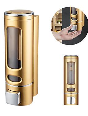 billige Cleaning Supplies-400 ml pressende abs plast veggmontering flytende håndsåpe dispenser