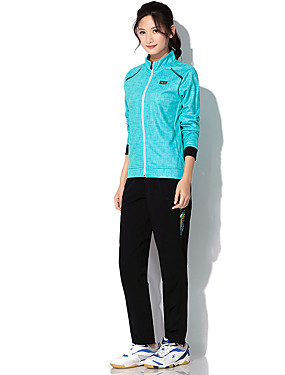 cheap Sports & Outdoors-Women's Tennis Badminton Table Tennis Pants / Trousers Track Jacket Clothing Suit Solid Color Breathable Quick Dry Soft Autumn / Fall Spring Winter Sports Outdoor / High Elasticity