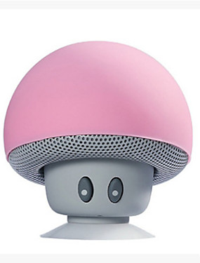 cheap Hifi player-Cartoon Mushroom Wireless Bluetooth speaker waterproof sucker mini bluetooth speaker audio outdoor portable Bracket