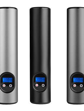 povoljno Inflatable Pump-e68 prijenosni kompresor zraka ožičeni mini pumpa za zrak ručna pumpa guma bežična električna pumpa za zrak 12v 150psi usb sučelje aluminijska legura LCD ekran za automobilske bicikle gume kuglice #