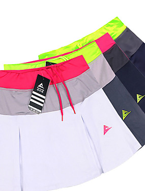cheap Sports & Outdoors-Women's Tennis Golf Outdoor Exercise Skirt Skort Multi Color Breathable Butt Lift Moisture Wicking Spring Summer Sports & Outdoor Athleisure / Spandex / High Elasticity