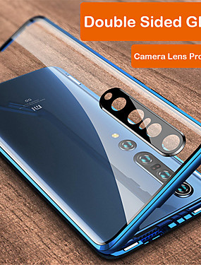 cheap Xiaomi Case-Magnetic Adsorption Tempered Glass Metal Double Sided Case For Xiaomi Mi 10 / Mi 10 Pro 360 Protective Cover For Xiaomi  Redmi K30 / K30 Pro