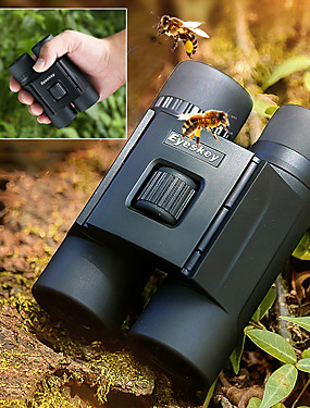 cheap Sports & Outdoors-Eyeskey 10 X 25 mm Binoculars Roof Waterproof Mini Handheld Folding 114 m Fully Multi-coated BAK4 Camping / Hiking Outdoor Exercise Everyday Use Spectralite Coating Aluminium / IPX-7 / Hunting