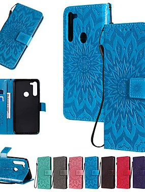 cheap Other Phone Case-Case For Motorola MOTO E7 / MOTO E6 plus / MOTO G8PLUS Wallet / Card Holder / with Stand Full Body Cases Solid Colored / Flower PU Leather For MOTO G8 Power/Z3 Play/Z4 Play/P40/G8/E6 Play