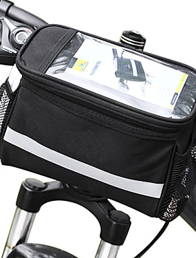 cheap Sports & Outdoors-ROSWHEEL 4.5 L Bike Handlebar Bag Moistureproof Wearable Shockproof Bike Bag PVC(PolyVinyl Chloride) 600D Polyester Bicycle Bag Cycle Bag Samsung Galaxy S6 / iPhone 4/4S / LG G3 Cycling / Bike