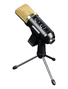 cheap Musical Instruments-Microphone Condenser Microphone Home And Office 78 with Reverb Micro USB >1000 ohm for Studio Recording & Broadcasting Mobile Phone Computer For Cellphone