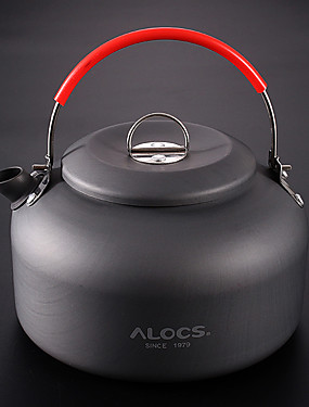 cheap Sports & Outdoors-ALOCS Camping Kettle Teapot Portable for Aluminium Outdoor Camping / Hiking Outdoor Picnic
