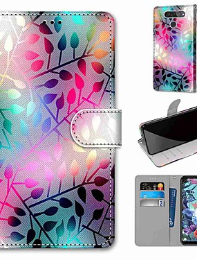 cheap Other Phone Case-Case For LG Q70 / LG K50S / LG K40S Wallet / Card Holder / with Stand Full Body Cases Translucent Glass PU Leather / TPU for LG K30 2019 / LG K20 2019