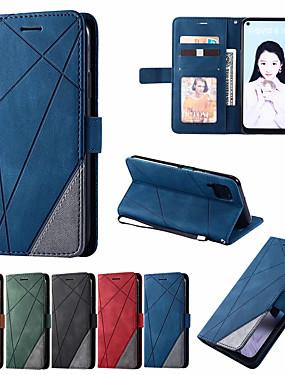 cheap Huawei Case-Leather Case For Huawei P40 P20Lite P30 Mate 20Lite 30 Lite P40Pro P30 Pro P Smart 2019 Nova 7i 6se 5z 5iPro Wallet Flip Cover Magnet Colorblock Phone Bag