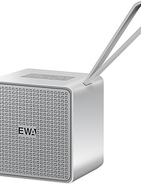 cheap Outdoor Speakers-EWA A105 Mini Bluetooth Speaker Built-in Battery Portable Wireless for Smart Phone Tablet Pad Support MicroSD Card