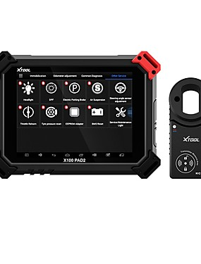 cheap Diagnostic Tools In US Warehouse-XTOOL X100 PAD2 Pro Professional OBD2 Car Diagnostic Tool with key programmer For VW 4th 5th Immobilizer and Odometer adjustment