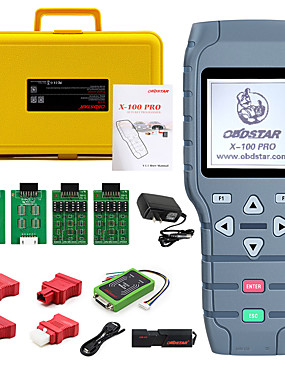 cheap Diagnostic Tools In US Warehouse-OBDSTAR X100 PRO Auto key programmer (CDE) With EEPROM Adapter IMMO Odometer Correction OBD Software Tool