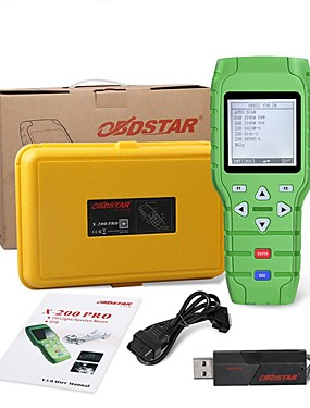cheap Diagnostic Tools In US Warehouse-OBDSTAR X-200 X200 Pro AB Type for Oil Reset  OBD Software  EPB Function Update Online