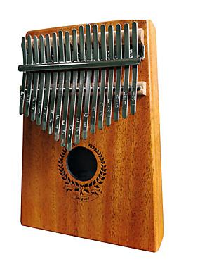 halpa Soittimet-kalimba Sormi Mbira Sanza Peukalo Piano 17 Key Puinen Kannettava Soitin paras lahja lapsille ja aloittelijoille