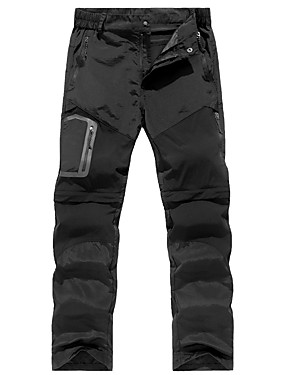 cheap Sports & Outdoors-Men's Hiking Pants Summer Outdoor Waterproof Breathable Quick Dry Stretchy Pants / Trousers Bottoms Hunting Fishing Climbing Black Army Green Grey S M L XL XXL
