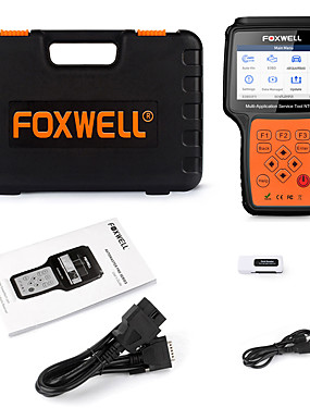 cheap Diagnostic Tools In US Warehouse-Foxwell NT650 Elite OBD2 Code Reader Scanner Engine ABS Airbag EPB Oil TPMS 20 Reset ODB2 Diagnostic Tool OBD Automotive Scanner