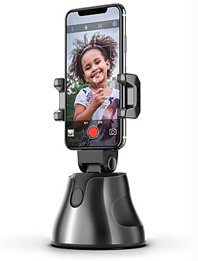 cheap Stabilizer-LITBest Apai Genie Auto Smart Shooting Selfie Stick 360° Rotation Object Tracking Holder Portable All-in-one Rotation Face Tracking Object Vlog Camera Phone Holder