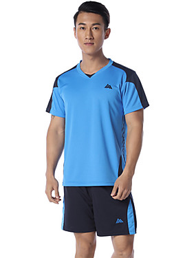 cheap Team Sports-SPAKCT Men's Soccer Clothing Suit Comfortable Basketball Football / Soccer Polyester Blue