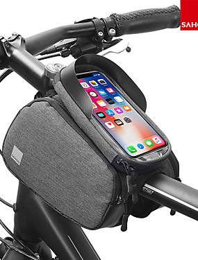 cheap Sports & Outdoors-Cell Phone Bag 6 inch Touch Screen Reflective Waterproof Cycling for iPhone 8/7/6S/6 iPhone X Samsung Galaxy S8+ / Note 8 Black Cycling / Bike / iPhone XR / iPhone XS / iPhone XS Max / Portable