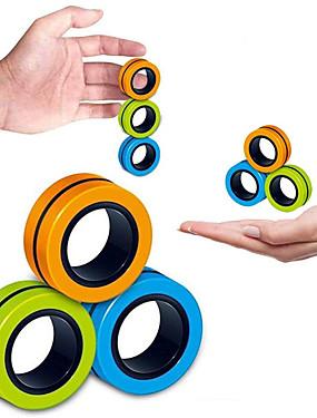 abordables Juguetes y Cosplay-3/6/9 pcs Juguetes Magnéticos Juguetes de descompresión Accesorios mágicos Anillos de pulsera magnética Descomprimir juguete Antiestrés Anillo magnético del dedo Creativo Adultos / Adolescente Juguet