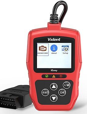 billiga US Warehouse-vident ieasy300 obd2 skanner förbättrad bilkodeläsare fordonsmotor ljus system diagnosverktyg med batteritestare universellt fordon kan skanna verktyg