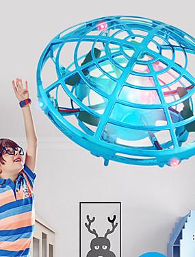 billige Nyhet Leker-mini ufo drone anti-kollisjon flygende helikopter led lys magi hånd ufo ball fly sensing induksjon drone barn elektrisk elektronisk leketøy