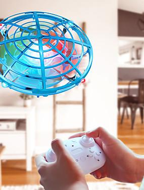 billige Nyhet Leker-mini ufo rc drone infraed hånd sensing fly elektronisk modell quadcopter flayaball små drohne leker for barn