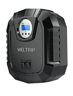 halpa Ilmatäytteiset pumput-am01 langaton kaapeli kannettava ilmakompressorin täyttöpumppu dc 12v rengaspuhallin atuo auton ilmapumppu digitaalisella näytöllä ja led-valolla autopyörään
