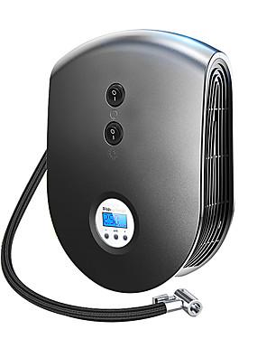 halpa Ilmatäytteiset pumput-e26 langaton kaapeli kannettava ilmakompressorin täyttöpumppu dc 12v rengaspuhallin atuo auton ilmapumppu digitaalisella näytöllä ja led-valolla autopyörään