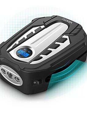 voordelige Opblaasbare pomp-Yantu draagbare luchtcompressor pomp dc 12v bandenpomp atuo auto luchtpomp met digitale display en led licht voor auto fiets am03