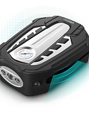 voordelige Opblaasbare pomp-yantu draagbare luchtcompressor pomp dc 12v bandenpomp auto luchtpomp met mechanisch fonds en led-licht voor auto fiets am03