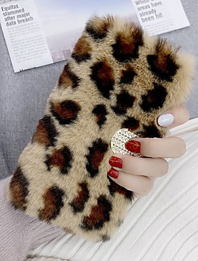 cheap Huawei Case-Case For Huawei Y6p Y5p Y7p Wallet Card Holder with Stand Plush Leopard Grain PU Leather Case For Huawei P smart 2020 P40 lite  Honor 9S Nova 6 SE Nova 7i P40 Pro Y7 Prime (2019) Honor 20 lite Mate 20