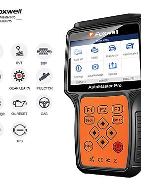 povoljno US Warehouse-foxwell nt680 svi sustavi dijagnostički skener alat za skeniranje brisanja očitavanja sa uljnim svjetlom / servis resetepb funkcije ažurirana verzija nt624