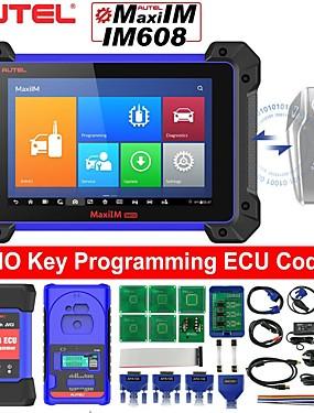 povoljno US Warehouse-autel maxiim im608 dijagnostički alat za programiranje tipki za programiranje ecu kodiranja 30 uslužnih funkcija s immo xp400 programatorom ključeva j2534 reprogramer