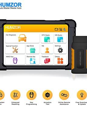 povoljno US Warehouse-humzor nexzdas pro bluetooth 10inch tablet full system auto dijagnostički alat obd2 skener s immo / abs / epb / sas / dpf / reset reset