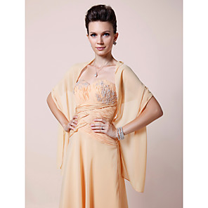 cheap Wedding Wraps-Shawls Chiffon Wedding / Party Evening Women's Wrap With