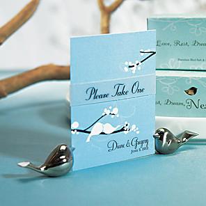 povoljno Raspored sjedenja i držači kartica-Krom Place Card Holders Poklon kutija 4 pcs