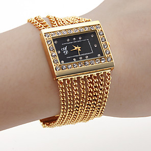 cheap Bracelet Watches-Women's Luxury Watches Wrist Watch Gold Watch Quartz Ladies Hot Sale Gold Analog One Year Battery Life / SSUO SR626SW